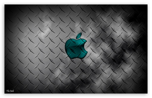 Glass Apple - Metal Background HD wallpaper for Wide 16:10 5:3 Widescreen WHXGA WQXGA WUXGA WXGA WGA ; Tablet 1:1 ; iPad 1/2/Mini ; Mobile 4:3 5:3 3:2 16:9 - UXGA XGA SVGA WGA DVGA HVGA HQVGA devices ( Apple PowerBook G4 iPhone 4 3G 3GS iPod Touch ) WQHD QWXGA 1080p 900p 720p QHD nHD ;