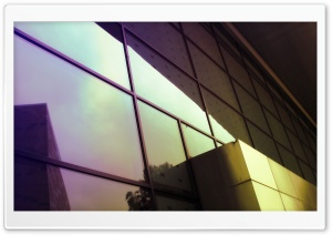 Glass Building HD Wide Wallpaper for Widescreen