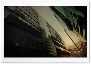 Glass Buildings HD Wide Wallpaper for Widescreen