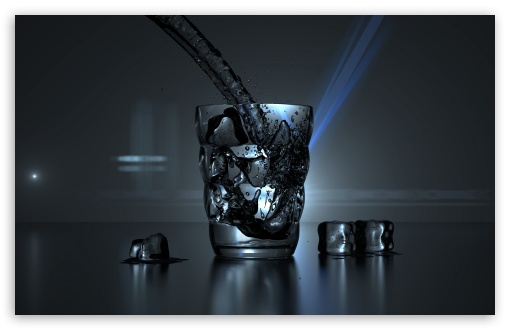 Glass of Water and Some Ice Cubes HD wallpaper for Standard 4:3 5:4 Fullscreen UXGA XGA SVGA QSXGA SXGA ; Wide 16:10 5:3 Widescreen WHXGA WQXGA WUXGA WXGA WGA ; HD 16:9 High Definition WQHD QWXGA 1080p 900p 720p QHD nHD ; Other 3:2 DVGA HVGA HQVGA devices ( Apple PowerBook G4 iPhone 4 3G 3GS iPod Touch ) ; Mobile VGA WVGA iPhone iPad PSP Phone - VGA QVGA Smartphone ( PocketPC GPS iPod Zune BlackBerry HTC Samsung LG Nokia Eten Asus ) WVGA WQVGA Smartphone ( HTC Samsung Sony Ericsson LG Vertu MIO ) HVGA Smartphone ( Apple iPhone iPod BlackBerry HTC Samsung Nokia ) Sony PSP Zune HD Zen ; Tablet 2 Android ; Dual 4:3 5:4 UXGA XGA SVGA QSXGA SXGA ;