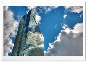 Glass Skyscraper HD Wide Wallpaper for 4K UHD Widescreen desktop & smartphone