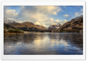 Glen Etive glen, Highlands of Scotland HD Wide Wallpaper for 4K UHD Widescreen desktop & smartphone
