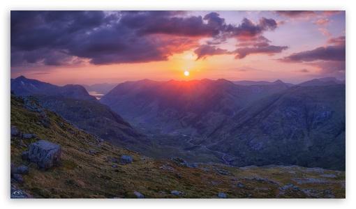 Download Glencoe, Scotland HD Wallpaper