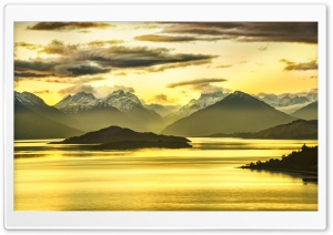 Glenorchy Island HD Wide Wallpaper for 4K UHD Widescreen desktop & smartphone