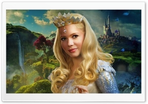 Glinda - Oz the Great and Powerful 2013 Movie HD Wide Wallpaper for 4K UHD Widescreen desktop & smartphone