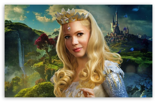 Glinda - Oz the Great and Powerful 2013 Movie HD wallpaper for Wide 16:10 5:3 Widescreen WHXGA WQXGA WUXGA WXGA WGA ; HD 16:9 High Definition WQHD QWXGA 1080p 900p 720p QHD nHD ; Standard 4:3 5:4 3:2 Fullscreen UXGA XGA SVGA QSXGA SXGA DVGA HVGA HQVGA devices ( Apple PowerBook G4 iPhone 4 3G 3GS iPod Touch ) ; Tablet 1:1 ; iPad 1/2/Mini ; Mobile 4:3 5:3 3:2 16:9 5:4 - UXGA XGA SVGA WGA DVGA HVGA HQVGA devices ( Apple PowerBook G4 iPhone 4 3G 3GS iPod Touch ) WQHD QWXGA 1080p 900p 720p QHD nHD QSXGA SXGA ;