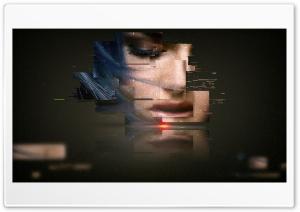 Glitch Girl Ultra HD Wallpaper for 4K UHD Widescreen desktop, tablet & smartphone