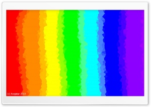 Glitched Rainbow Ultra HD Wallpaper for 4K UHD Widescreen desktop, tablet & smartphone