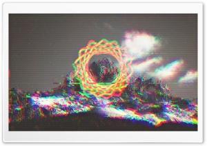 Glitchy Mountain HD Wide Wallpaper for 4K UHD Widescreen desktop & smartphone