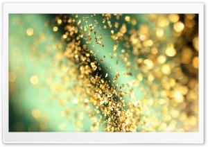 Glitter Bokeh HD Wide Wallpaper for Widescreen