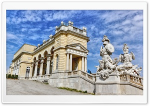 Gloriette Wien Vienna HD Wide Wallpaper for Widescreen