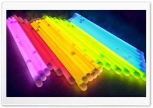 Glow Bracelets HD Wide Wallpaper for Widescreen