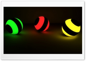 Glowing Marbles Ultra HD Wallpaper for 4K UHD Widescreen desktop, tablet & smartphone