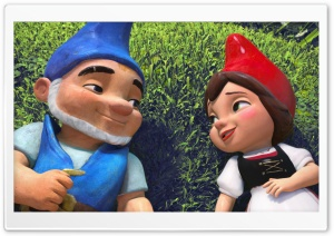 Gnomeo & Juliet HD Wide Wallpaper for Widescreen