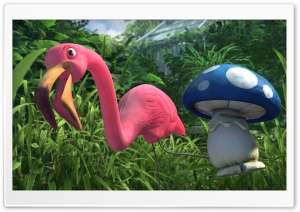 Gnomeo & Juliet - Featherstone And Shroom HD Wide Wallpaper for Widescreen