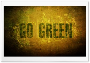 go green HD Wide Wallpaper for Widescreen