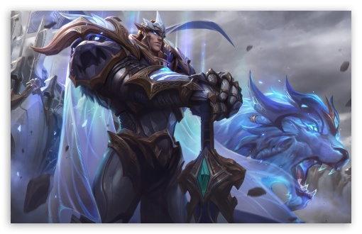 Download God King Garen LoL Splash Art League of Legends HD Wallpaper