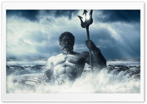 God of the Sea HD Wide Wallpaper for 4K UHD Widescreen desktop & smartphone