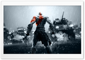 God Of War HD Wide Wallpaper for 4K UHD Widescreen desktop & smartphone