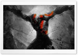 God Of War HD Wide Wallpaper for Widescreen