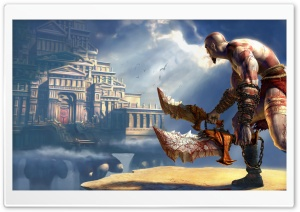 God Of War 2 HD Wide Wallpaper for 4K UHD Widescreen desktop & smartphone