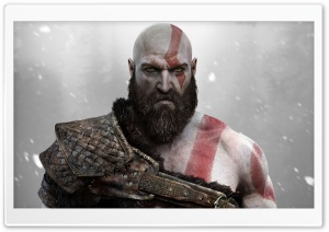 God of War 2018 Video Game Ultra HD Wallpaper for 4K UHD Widescreen desktop, tablet & smartphone