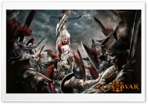 God Of War 3 HD Wide Wallpaper for Widescreen