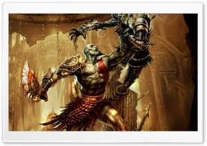 God Of War 3, Game HD Wide Wallpaper for Widescreen