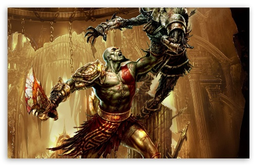 God Of War 3, Game HD wallpaper for Wide 16:10 5:3 Widescreen WHXGA WQXGA WUXGA WXGA WGA ; Standard 4:3 5:4 3:2 Fullscreen UXGA XGA SVGA QSXGA SXGA DVGA HVGA HQVGA devices ( Apple PowerBook G4 iPhone 4 3G 3GS iPod Touch ) ; iPad 1/2/Mini ; Mobile 4:3 5:3 3:2 5:4 - UXGA XGA SVGA WGA DVGA HVGA HQVGA devices ( Apple PowerBook G4 iPhone 4 3G 3GS iPod Touch ) QSXGA SXGA ;
