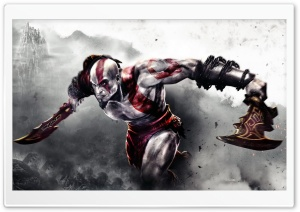 God of War 3 Ultra HD Wallpaper for 4K UHD Widescreen desktop, tablet & smartphone