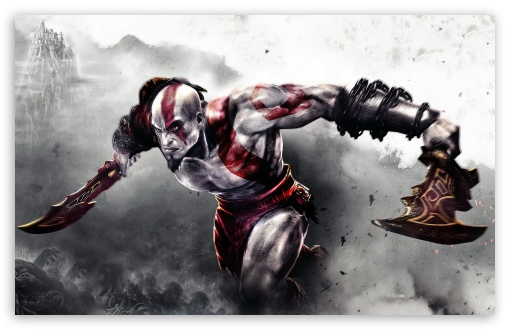 God of War 3 HD wallpaper for Wide 16:10 5:3 Widescreen WHXGA WQXGA WUXGA WXGA WGA ; HD 16:9 High Definition WQHD QWXGA 1080p 900p 720p QHD nHD ; Standard 4:3 5:4 Fullscreen UXGA XGA SVGA QSXGA SXGA ; MS 3:2 DVGA HVGA HQVGA devices ( Apple PowerBook G4 iPhone 4 3G 3GS iPod Touch ) ; Mobile VGA WVGA iPhone iPad PSP Phone - VGA QVGA Smartphone ( PocketPC GPS iPod Zune BlackBerry HTC Samsung LG Nokia Eten Asus ) WVGA WQVGA Smartphone ( HTC Samsung Sony Ericsson LG Vertu MIO ) HVGA Smartphone ( Apple iPhone iPod BlackBerry HTC Samsung Nokia ) Sony PSP Zune HD Zen ; Dual 4:3 5:4 UXGA XGA SVGA QSXGA SXGA ;