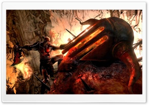 God Of War Art HD Wide Wallpaper for Widescreen
