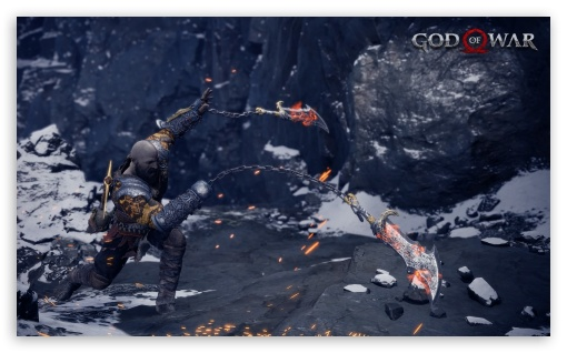Download God of War Blade of Chaos HD Wallpaper