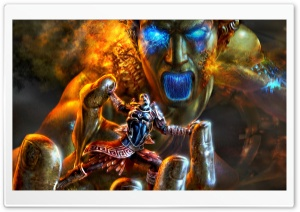 God Of War, Game Battle Ultra HD Wallpaper for 4K UHD Widescreen desktop, tablet & smartphone
