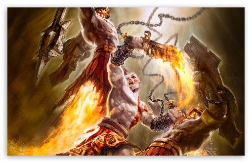God Of War Game Battle HD wallpaper for Wide 16:10 5:3 Widescreen WHXGA WQXGA WUXGA WXGA WGA ; HD 16:9 High Definition WQHD QWXGA 1080p 900p 720p QHD nHD ; Standard 3:2 Fullscreen DVGA HVGA HQVGA devices ( Apple PowerBook G4 iPhone 4 3G 3GS iPod Touch ) ; Mobile 5:3 3:2 16:9 - WGA DVGA HVGA HQVGA devices ( Apple PowerBook G4 iPhone 4 3G 3GS iPod Touch ) WQHD QWXGA 1080p 900p 720p QHD nHD ;