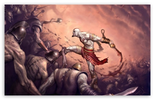 God Of War, Game Battle HD wallpaper for Wide 16:10 5:3 Widescreen WHXGA WQXGA WUXGA WXGA WGA ; Standard 4:3 3:2 Fullscreen UXGA XGA SVGA DVGA HVGA HQVGA devices ( Apple PowerBook G4 iPhone 4 3G 3GS iPod Touch ) ; iPad 1/2/Mini ; Mobile 4:3 5:3 3:2 - UXGA XGA SVGA WGA DVGA HVGA HQVGA devices ( Apple PowerBook G4 iPhone 4 3G 3GS iPod Touch ) ;
