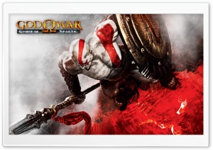 God of War Ghost of Sparta Video Game Ultra HD Wallpaper for 4K UHD Widescreen desktop, tablet & smartphone