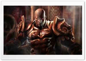 God of War Greek 4 HD Wide Wallpaper for Widescreen