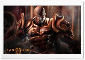 God Of War II HD Wide Wallpaper for Widescreen