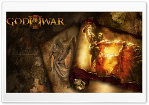 God Of War III HD Wide Wallpaper for 4K UHD Widescreen desktop & smartphone