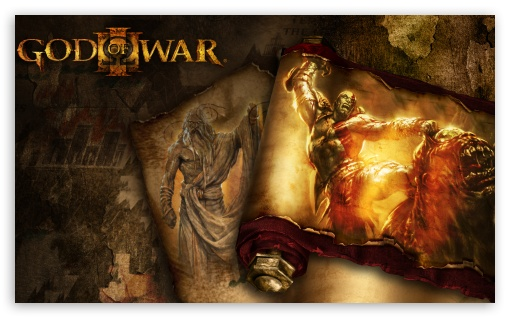 God Of War III HD wallpaper for Wide 5:3 Widescreen WGA ; HD 16:9 High Definition WQHD QWXGA 1080p 900p 720p QHD nHD ; Mobile 5:3 16:9 - WGA WQHD QWXGA 1080p 900p 720p QHD nHD ;