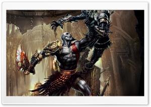 God Of War III HD Wide Wallpaper for 4K UHD Widescreen desktop & smartphone