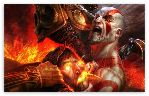 God Of War Iii Ultra Hd Desktop Background Wallpaper For