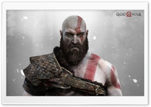 God Of War Kratos HD Wide Wallpaper for Widescreen