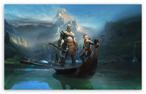 God Of War, Kratos and Atreus, 2018 Game ❤ 4K UHD Wallpaper for Wide 16:10 5:3 Widescreen WHXGA WQXGA WUXGA WXGA WGA ; 4K UHD 16:9 Ultra High Definition 2160p 1440p 1080p 900p 720p ; Standard 4:3 5:4 3:2 Fullscreen UXGA XGA SVGA QSXGA SXGA DVGA HVGA HQVGA ( Apple PowerBook G4 iPhone 4 3G 3GS iPod Touch ) ; Smartphone 16:9 3:2 5:3 2160p 1440p 1080p 900p 720p DVGA HVGA HQVGA ( Apple PowerBook G4 iPhone 4 3G 3GS iPod Touch ) WGA ; Tablet 1:1 ; iPad 1/2/Mini ; Mobile 4:3 5:3 3:2 16:9 5:4 - UXGA XGA SVGA WGA DVGA HVGA HQVGA ( Apple PowerBook G4 iPhone 4 3G 3GS iPod Touch ) 2160p 1440p 1080p 900p 720p QSXGA SXGA ;