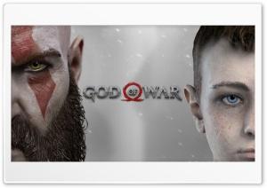 God of War PS4 HD Wide Wallpaper for Widescreen