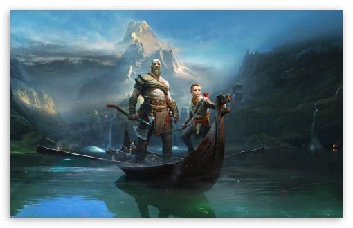 God Of War 4 Ultra Hd Desktop Background Wallpaper For 4k