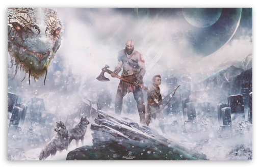 God Of War Ps4 Norse Mythology Ultra Hd Desktop Background
