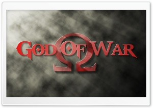 God Of War Title HD Wide Wallpaper for Widescreen