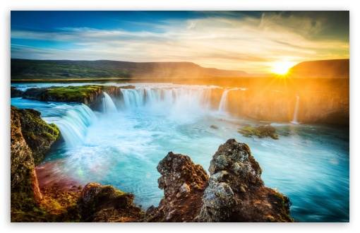 Godafoss Waterfall, Iceland HD wallpaper for Wide 16:10 5:3 Widescreen WHXGA WQXGA WUXGA WXGA WGA ; UltraWide 21:9 24:10 ; HD 16:9 High Definition WQHD QWXGA 1080p 900p 720p QHD nHD ; UHD 16:9 WQHD QWXGA 1080p 900p 720p QHD nHD ; Standard 4:3 5:4 3:2 Fullscreen UXGA XGA SVGA QSXGA SXGA DVGA HVGA HQVGA devices ( Apple PowerBook G4 iPhone 4 3G 3GS iPod Touch ) ; Smartphone 16:9 3:2 5:3 WQHD QWXGA 1080p 900p 720p QHD nHD DVGA HVGA HQVGA devices ( Apple PowerBook G4 iPhone 4 3G 3GS iPod Touch ) WGA ; Tablet 1:1 ; iPad 1/2/Mini ; Mobile 4:3 5:3 3:2 16:9 5:4 - UXGA XGA SVGA WGA DVGA HVGA HQVGA devices ( Apple PowerBook G4 iPhone 4 3G 3GS iPod Touch ) WQHD QWXGA 1080p 900p 720p QHD nHD QSXGA SXGA ; Dual 16:10 5:3 16:9 4:3 5:4 3:2 WHXGA WQXGA WUXGA WXGA WGA WQHD QWXGA 1080p 900p 720p QHD nHD UXGA XGA SVGA QSXGA SXGA DVGA HVGA HQVGA devices ( Apple PowerBook G4 iPhone 4 3G 3GS iPod Touch ) ;